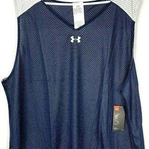 UA Men's Loose Fit Sleeveless Basketball  Size 3XL